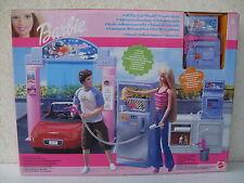 barbie car wash autolavaggio lave autowaschanlage playset doll 2002 NRFB 47810