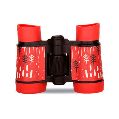 4x30 Binoculars Telescope Rubber Anti-skid Toy Gifts For Children Kids UK