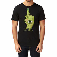 IRON FIST ZOMBIE HAND T-SHIRT / TEE / TOP BLACK (L5B)