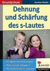 Dehnung und Schärfung des s-Lautes von Sabine Hauke (2014, Taschenbuch)