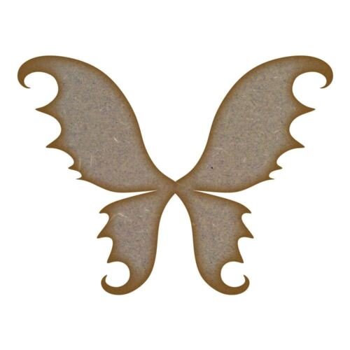 Fairy Wings MDF Laser Cut Craft Blanks in Various Sizes
