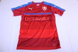 Men-039-s-Czech-Republic-S-Futbol-Soccer-Jersey-Puma-Jersey
