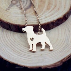 Rose-Tone-Jack-Russell-Terrier-Dog-Women-039-s-Necklace-Pet-Lover-Animal