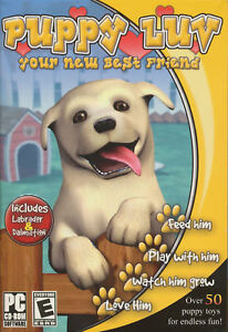 PUPPY-LUV-Virtual-Pet-PC-Game-w-Labrador-amp-Dalmations