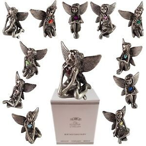 Pewter-Fairy-Birthstone-Collectables-Fairies-Gemstone-Home-Ornament-Gift-Boxed