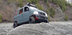 Mini Truck Daihatsu Hijet 4x4