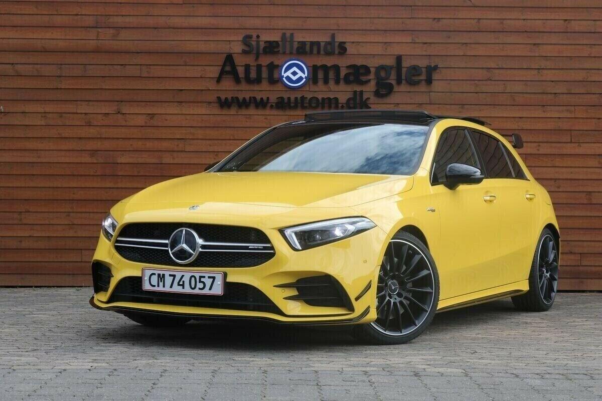 Mercedes A35 2,0 AMG aut. 4-M 4d - 669.900 kr.