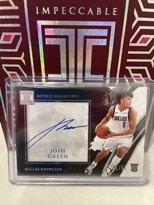 2020-21 impeccable basketball Rookie Signatures JOSH GREEN 01/99