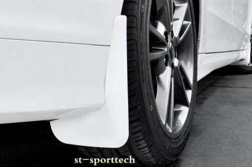 For Ford Fusion Mondeo 2013-2018 White Mud Flaps Splash Fenders Mudguards 4PCS