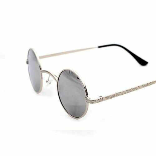 Small Round Sunglasses Vintage Lens Frame Rim Metal Hinge Spectacles Eye Glasses