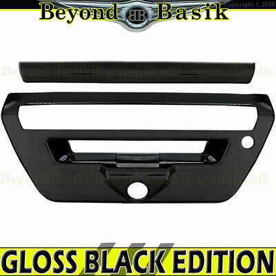 Tailgate Handle compatible with FORD F-150 15-17 Outside Txtrd Blk w//Cam Hole and Cable