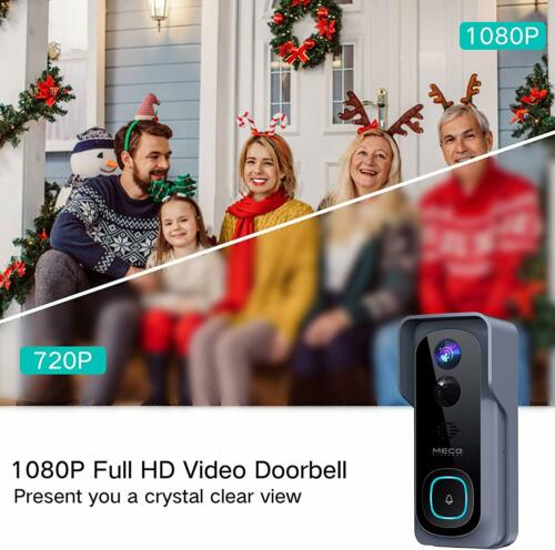 Details about  /【32GB Preinstalled】WiFi Video Doorbell,1080P Doorbell Camera with Free Chime