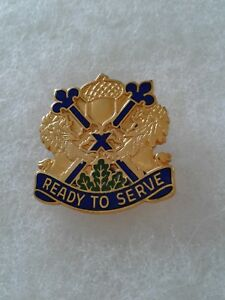 Authentic-US-Army-87th-Maneuver-Area-Command-DUI-DI-Unit-Crest-Insignia-NH
