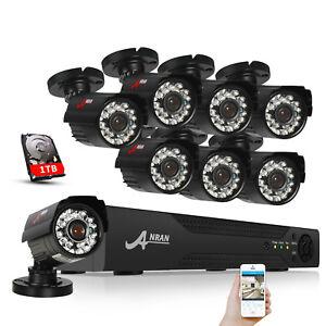 ANRAN-CCTV-Security-Camera-HDMI-4CH-6CH-8CH-DVR-Video-Home-Outdoor-System-1TB-HD
