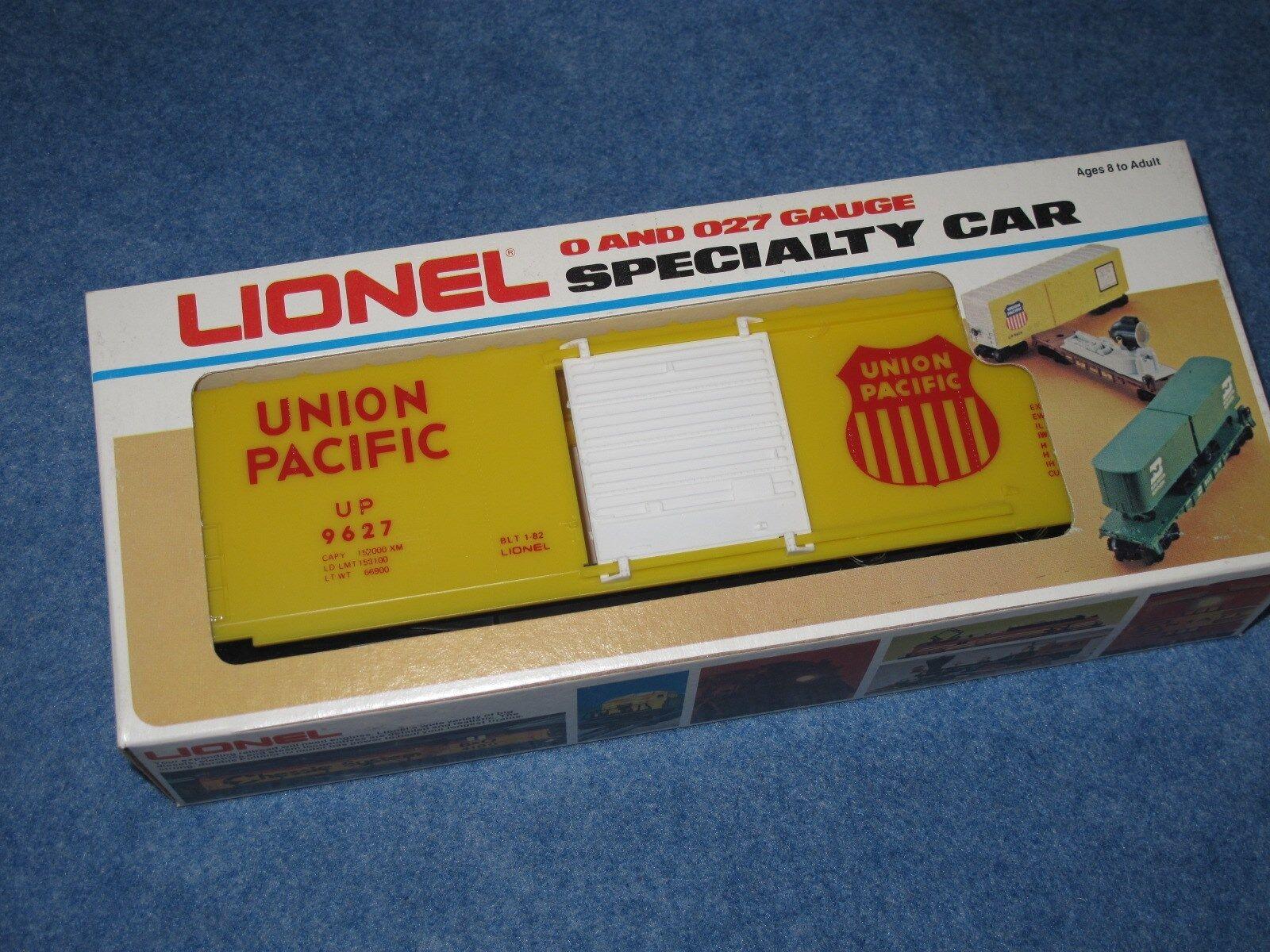 1982 Lionel 6-9627 Union Pacific Hi-Cube Box Car New in Box L2522