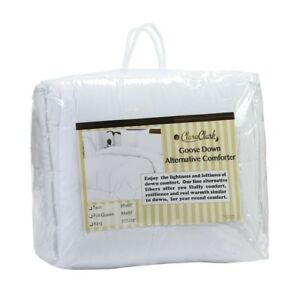 WHITE-GOOSE-DOWN-ALTERNATIVE-COMFORTER-KING-SIZE-QUEEN-SIZE-FULL-SIZE-AVAILABLE