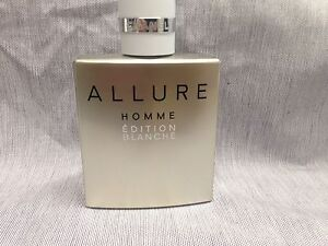 Chanel Allure Homme Edition Blanche 100ml Edp See Photos Ebay