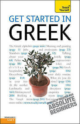 Get Started in Greek:Teach Yourself, Matsukas, Aristarhos, Very Good Book