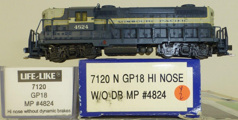Life like 7120 Missouri Pacific 4824 gp18 HI Nose DIESEL N 1 160 OVP y2 Å