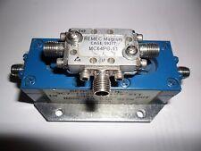 RF Microwave REACTEL Filter+ REMEC MAGNUM Mixer MC64PG-11 6.0 - 12.5 GHz 10dBm