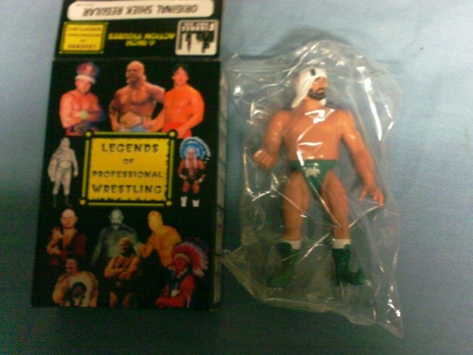 ORIGINAL SHEIK REGULAR Legends of Professional Wrestling FACTORY SEALED IN BOX