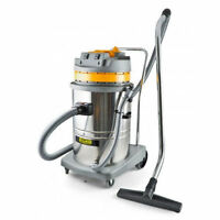 Pullman Cb60-ss 60l Twin Motor Wet&dry 2000watt Commercial Vacuum Cleaner