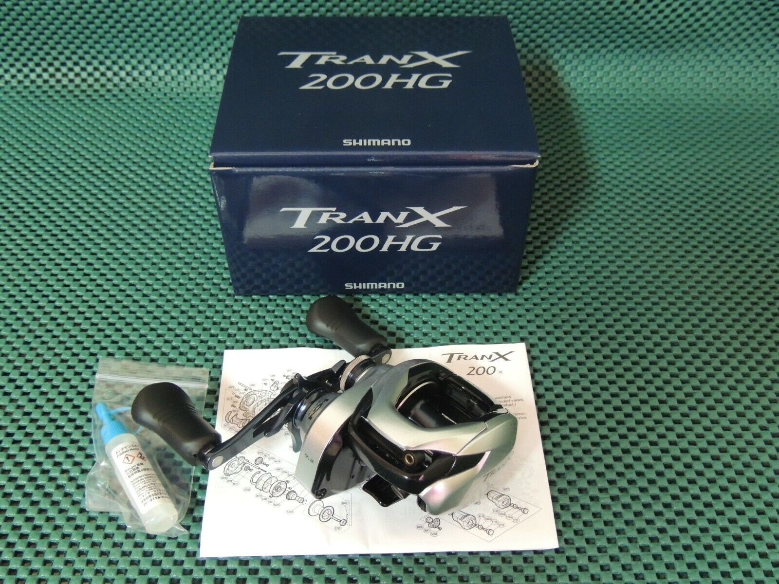 NEW Shimano Tranx 200HG Right Handle Baitcasting Reel 1-3 Days Fast Delivery