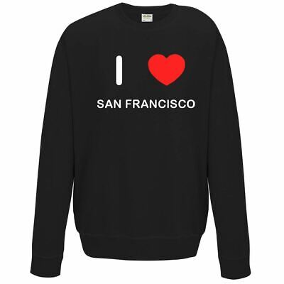 Golden Casual Jumper wellcoda San Francisco Bridge Mens Sweatshirt