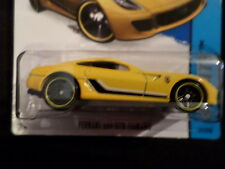 HW HOT WHEELS 2015 HW CITY #21/250 FERRARI 599 GTB FIORANO HOTWHEELS YELLOW