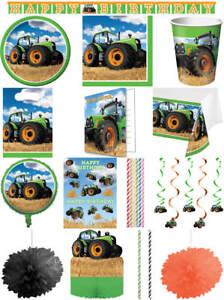 Kindergeburtstag Geburtstag Party Fete Feier Motto Traktor Bauernhof