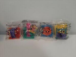 1997-McDonald-039-s-Toys-Complete-Lot-of-4-McDonaldland-Figurines-amp-Playground