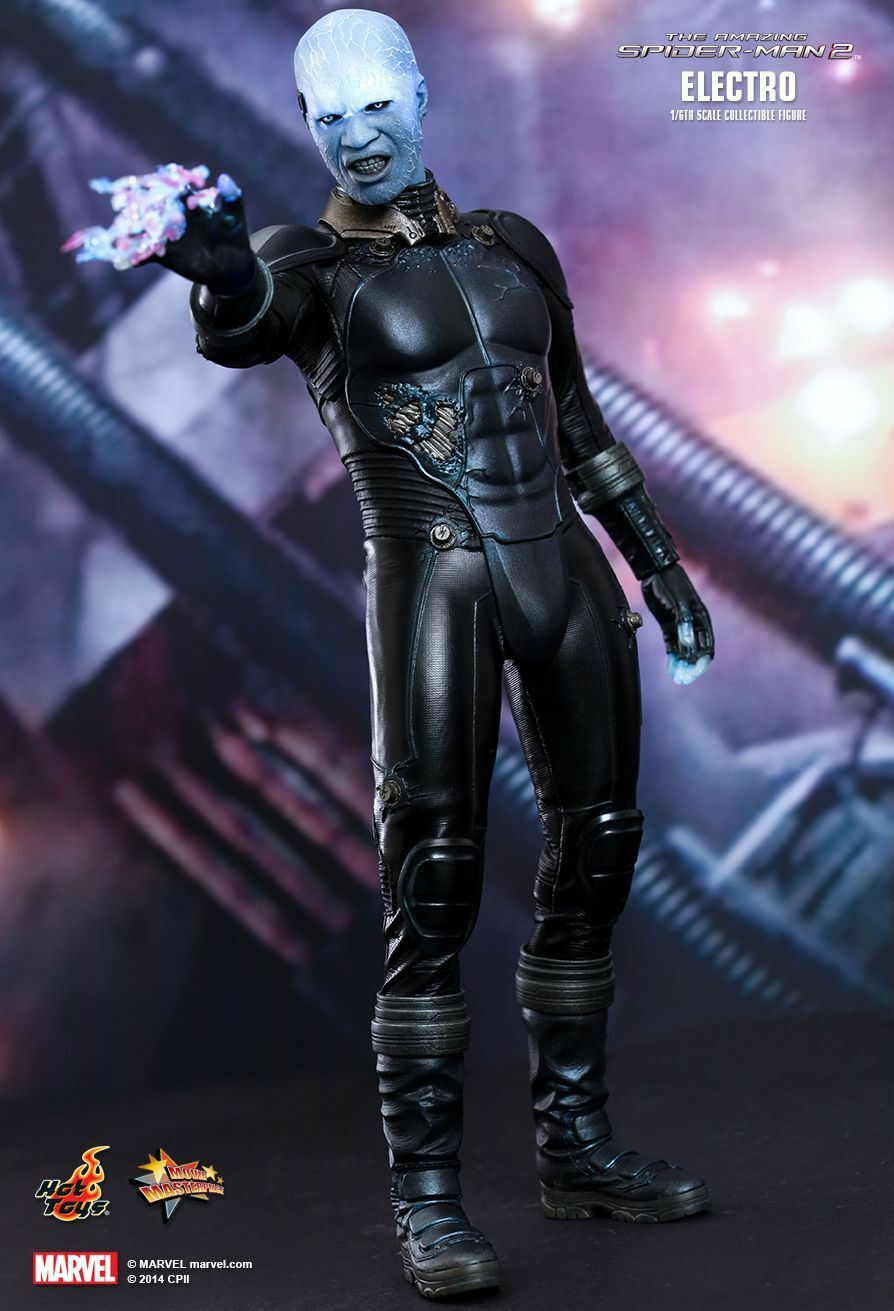 SPIDERhomme 2 -  Electro 1 6th Scale Action Figure MMS246 (Hot Toys)  nouveau  populaire