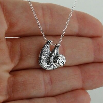 Solid 925 Sterling Silver and Textured Letter C Chain Slide Pendant Charm
