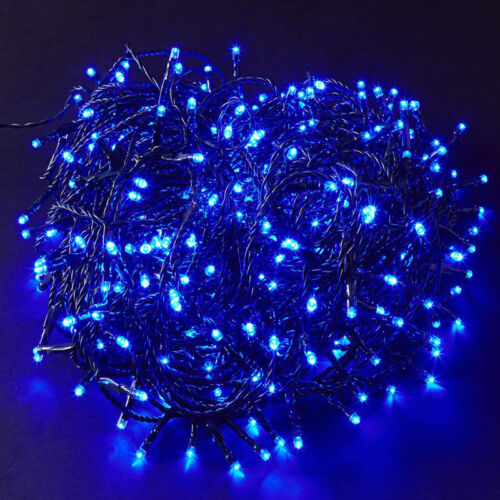 240V Mains Green Cable Wire LED Fairy String Lights Garland Indoor Outdoor Xmas