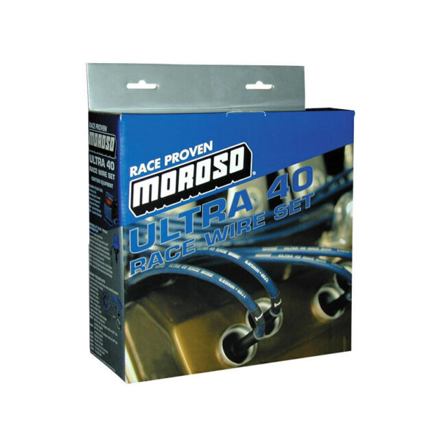 Moroso 73602 Ultra 40 Race Spark Plug Wire Set Small Block Chevy | eBay