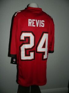 c2306e338 NWT Nike NFL Tampa Bay Buccaneers Men Red  24 Darrelle Revis Jersey ...