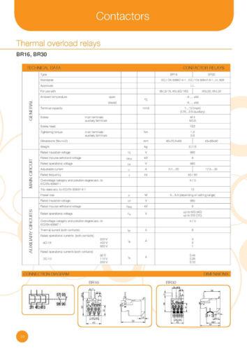 Thermisches Überlastschutzrelais ISKRA BR16 7,2-10A 4036.7367 Nr