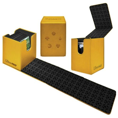 Gold Alcove mana Ultra Pro flip box card box case for MTG cards