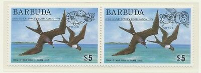 The Best Barbuda 1975, Apollo-sojuz Suberb Scarce U/m Se-tenant Set Unequal In Performance