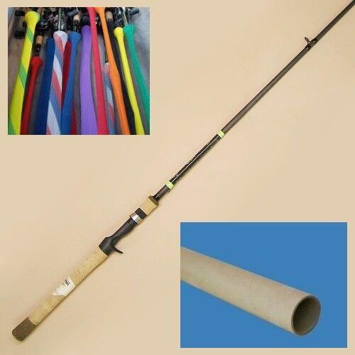 "G Loomis E6X JWR 853C Jig /& Worm Casting Rod 7/'1/"" Med Hvy 1pc 12672-01"