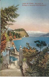 PC39349 Lago di Como. Penisola di Bellagio e Darsena Villa Serballoni. A. Rizzol