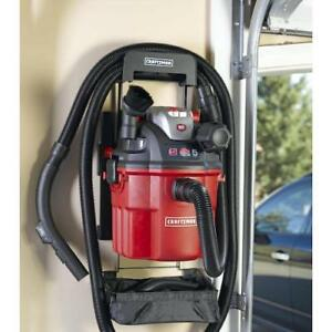 Craftsman Remote Control 5 Gal Vac Wall Mount Wet/ Dry 5 HP Blower Vacuum