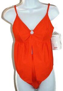 Details about Anita Maternity Parry 9621 2 PC Orange Swim Bathing Suit SZ  10 C Cup NWT Sample