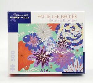 Pomegranate-Flowers-amp-Envelopes-500-PC-Jigsaw-Artpiece-Puzzle-Pattie-Lee-Becker