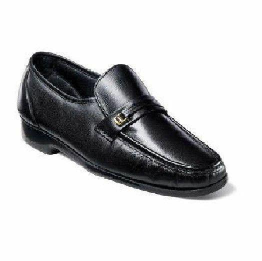 Florsheim Men/'s Riva leather slip-on Cognac Shoes 17088-03