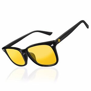 NEW-Hex-Gaming-Glasses-Anti-Glare-Yellow-Lens-Gaming-PC-Gamers-Blue-Light-Block