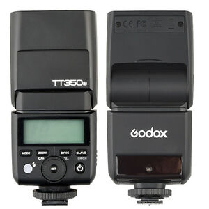 Godox TT350S 2.4G Wireless Master & Slave Mini flash Speedlite for Sony ILDC