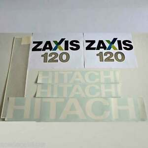 Hitachi-ZX120-Decals-Stickers-New-Repro-Decal-Kit