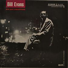 "BILL EVANS - NEW JAZZ CONEPTIONS  12"" LP (S849)"