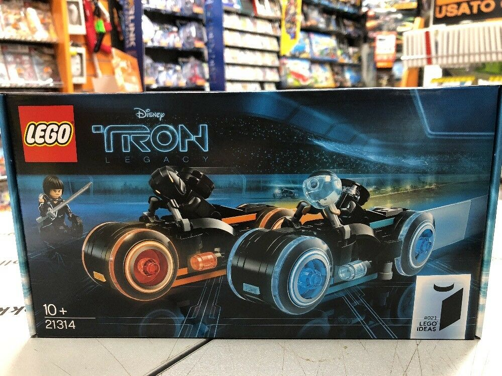 Lego Ideas TRON Legacy NUOVO 21314 NUOVO Legacy SIGILLATO 83672e
